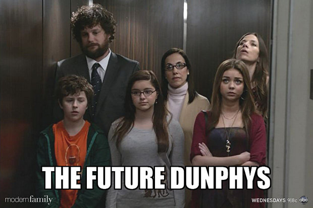 Family Meme The future dunphys