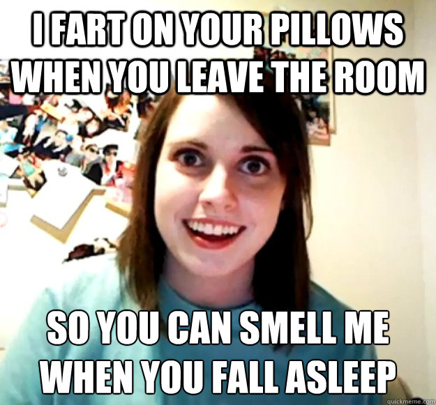 Fart Memes I fart on your pillows when you leave