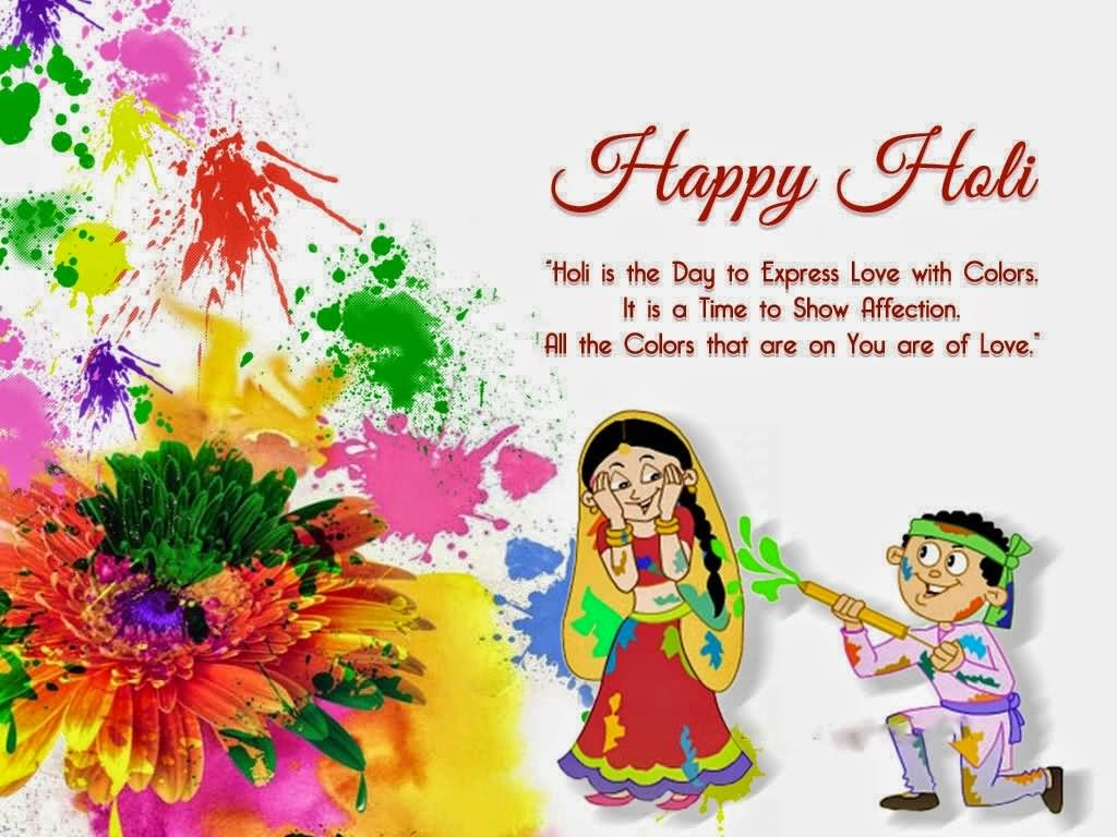 Festival Of Color Happy Holi Wishes For Friends