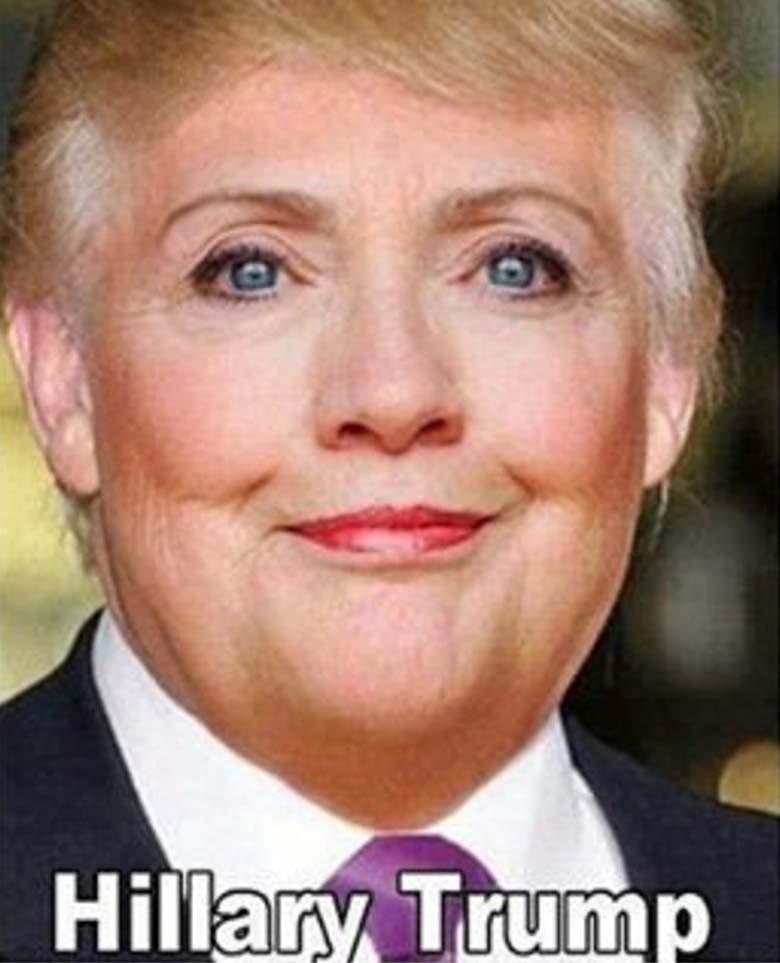 Funny Hillary Clinton Meme Hillary trump