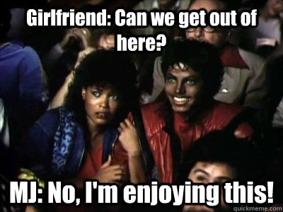 Girls friend can we get out of here Michael Jackson Meme