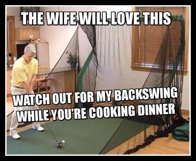 Golf Memes the wife will love this