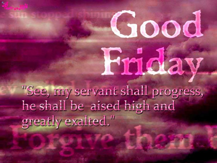 Happy Good Friday Best Wishes Quotes Images
