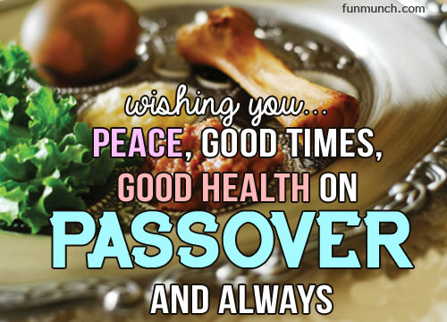 Happy Passover Best Wishes Message Image