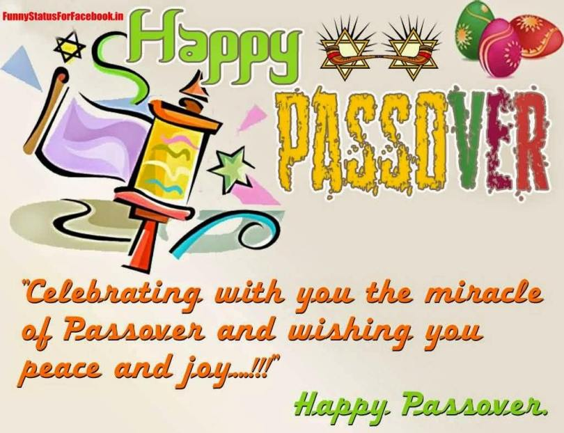 Happy Passover Celebrating Wishes Message For Friends