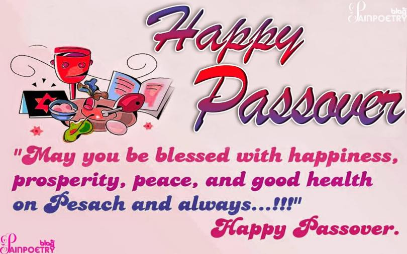 Happy Passover Wishes Greetings Message Image