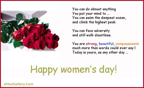 Happy Women's Day Quotes Greetings Message Image