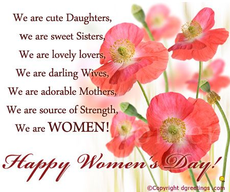 Happy Women's Day Wishes Quotes And Greetings