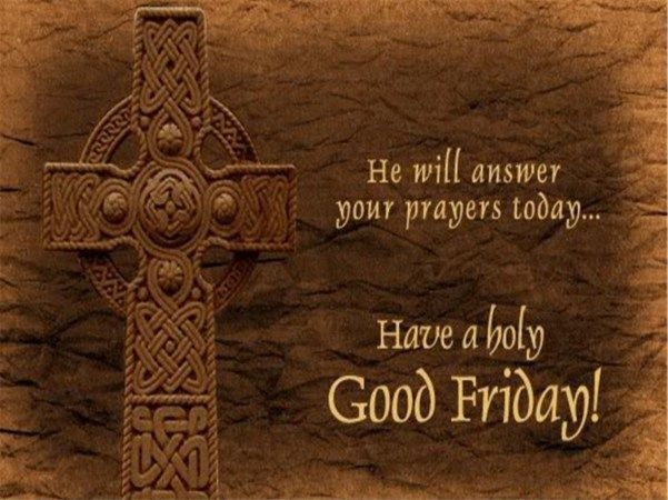 Have A Holy Good Friday Wishes Message Images