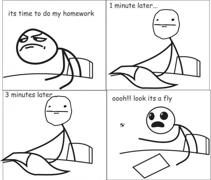 Homework Meme it's time to do my homework