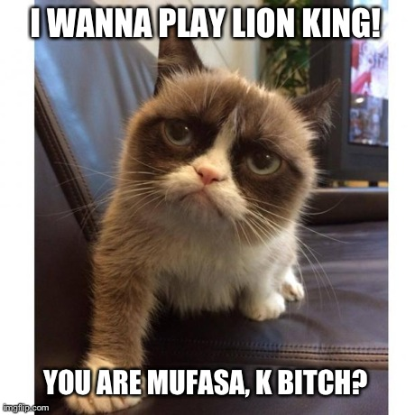 I wanna play lion king you are mufasa Lion Memes