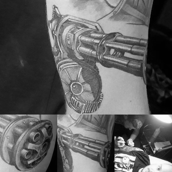 Inspiring Fallout Tattoo for Boy's arm