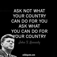 John F Kennedy Quotes Sayings 18