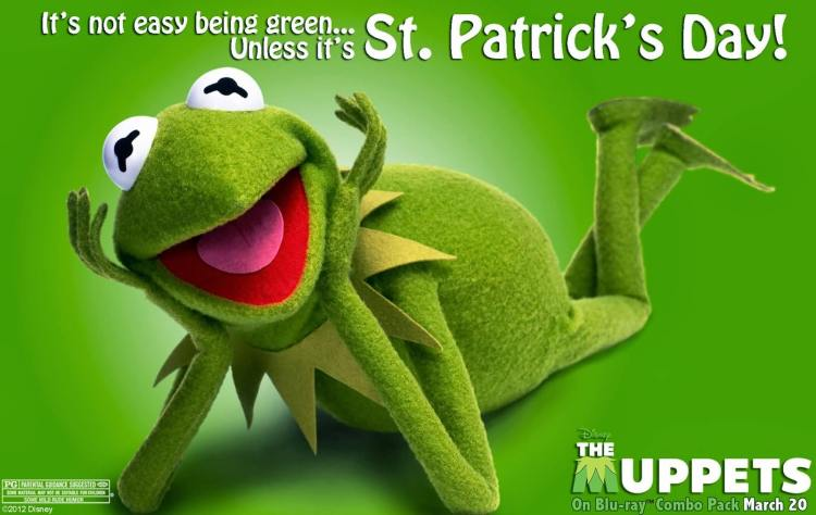 Kermit Message Happy St. Patrick's Day