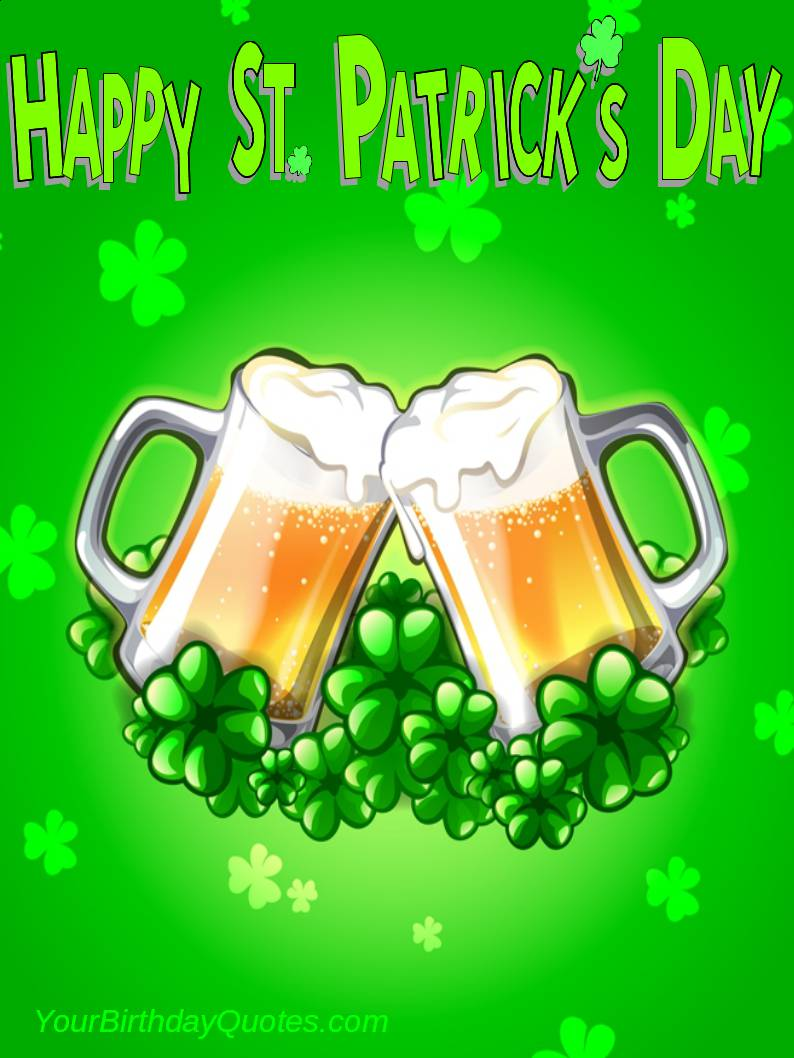 Let's Enjoy Happy St. Patrick's Day Wishes Image