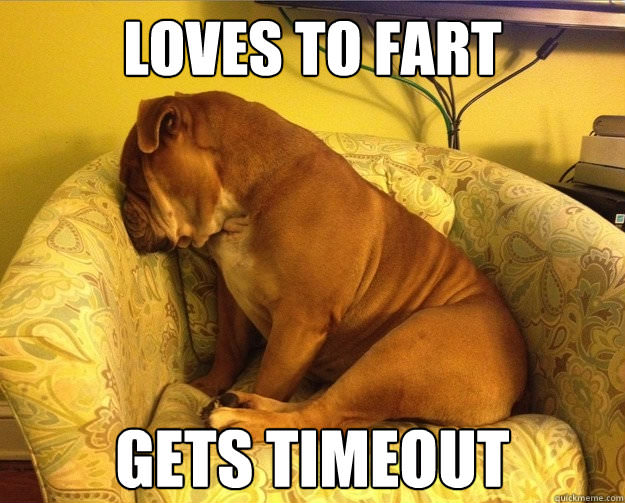 Loves to fart gets time out Fart Meme