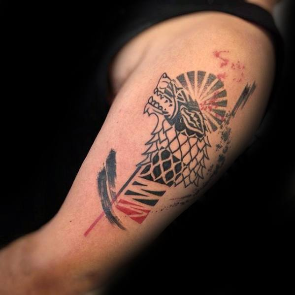 Maori Game Of Thrones Tattoo On arm for boy