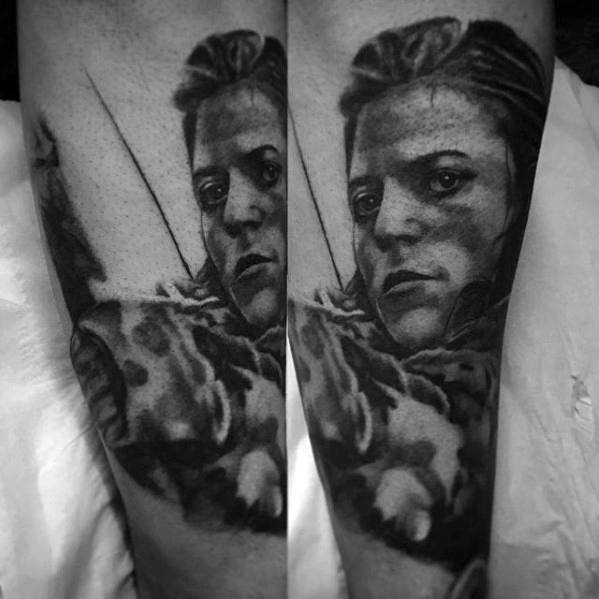 Mind blowing Game Of Thrones Tattoo On arm for guy