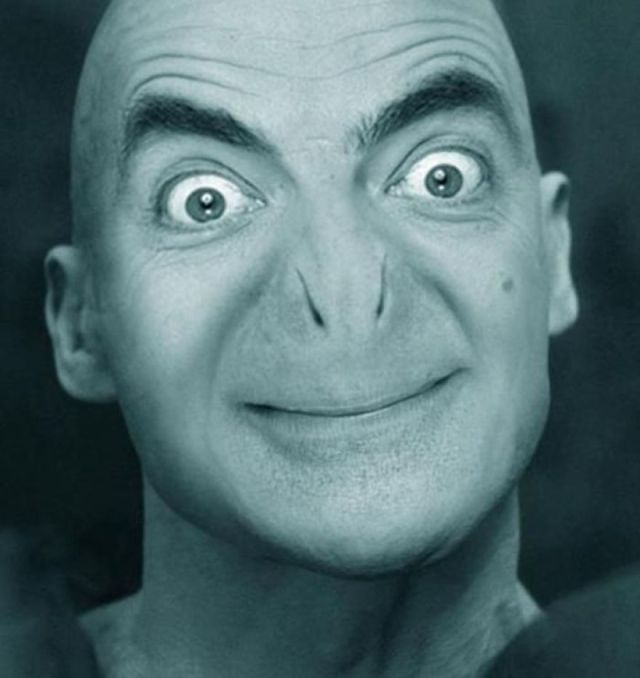 Mr Bean Funny Photoshop Images 04
