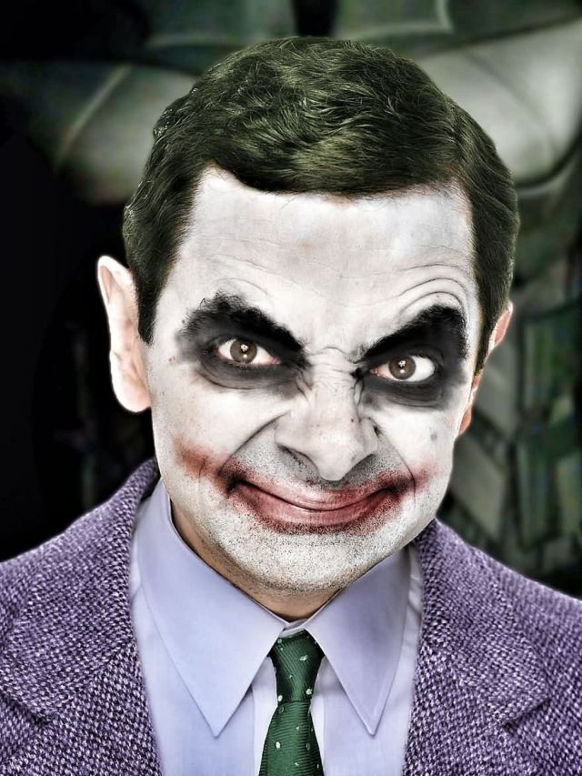 Mr Bean Funny Photoshop Images 40