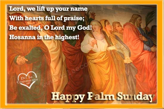 Palm Sunday Wishes Quotes 30