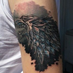 Perfect Game Of Thrones Tattoos On ARm for boy