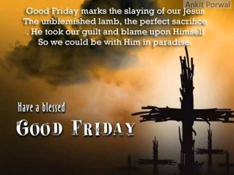 Perfect Good Friday Wishes Quotes Images