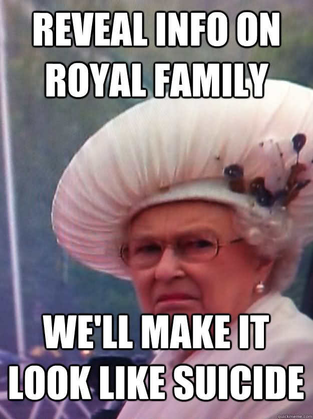 Reveal info on royal family we ll make it Family Meme