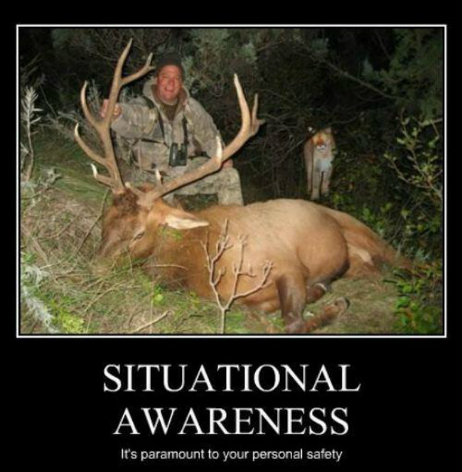 Situational awareness it's Hunting Meme