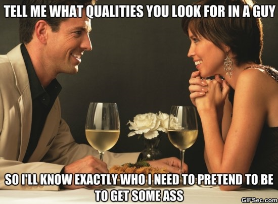 Tell me what qualities you look for Dating Memes