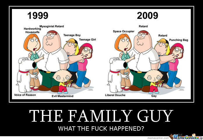 The family guy what the fuck happened Family Meme