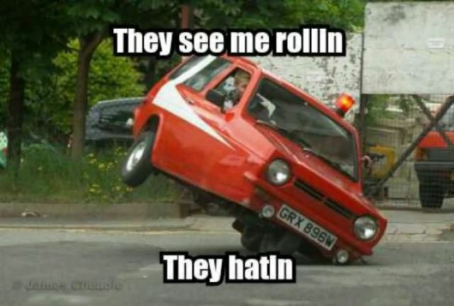 They see me Rollin they hatin Car Memes