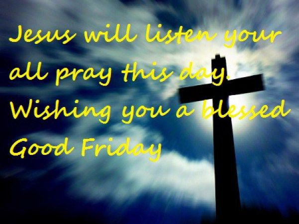 Wishing You A Blessed Good Friday Image