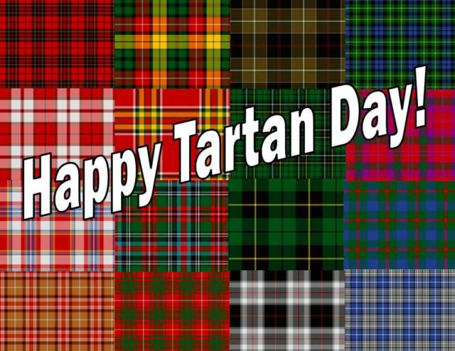 Wishing You Happy Tartan Day Greetings Images