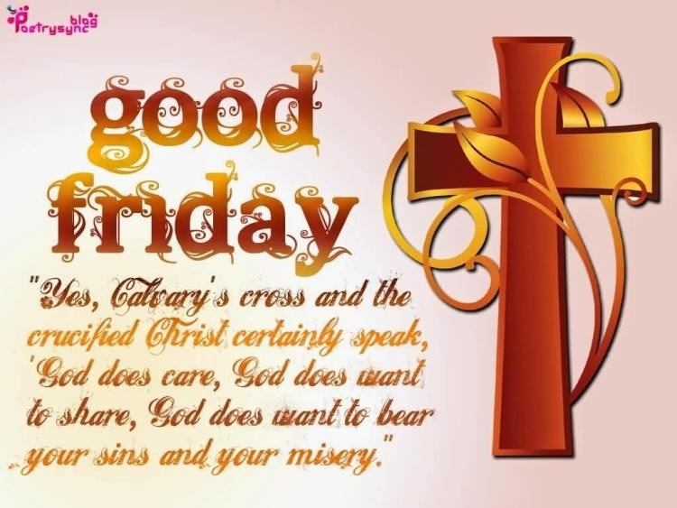 You And Your Family Happy Good Friday Wishes Quotes Images