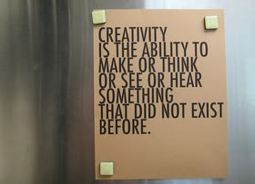 Ability Quotes Creativity is the ability to make or think