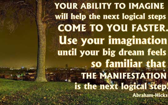Ability Quotes Your ability to imagine will help the next logical steps