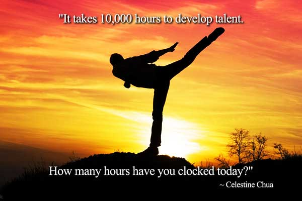 Ability Quotes it takes 10000 hours to develop talent