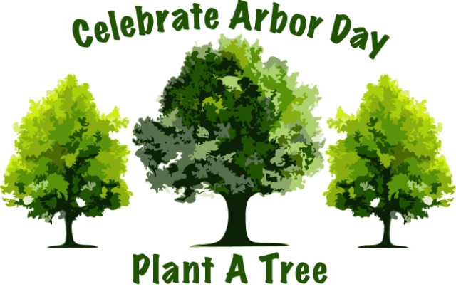 Arbor Day Painting Plant A Tree Wallpaper