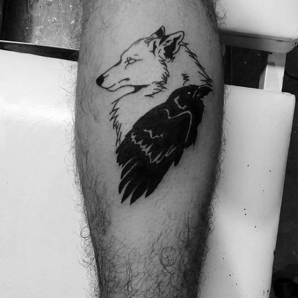 Best Ever Game Of Thrones Tattoos On leg for tattoo fan