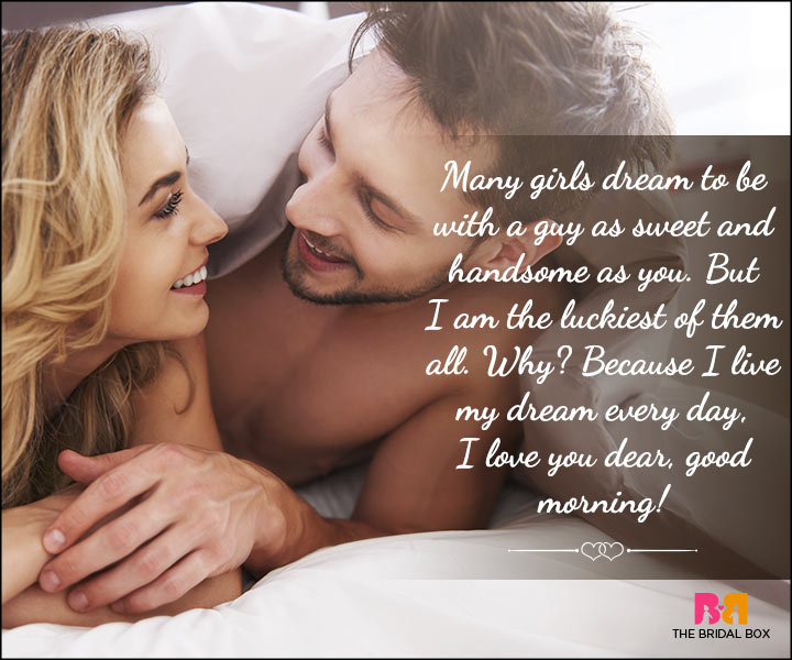 Catchy Good Morning Love Quotes