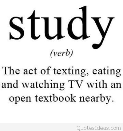 College Quotes The act of texting eating and watching TV with an