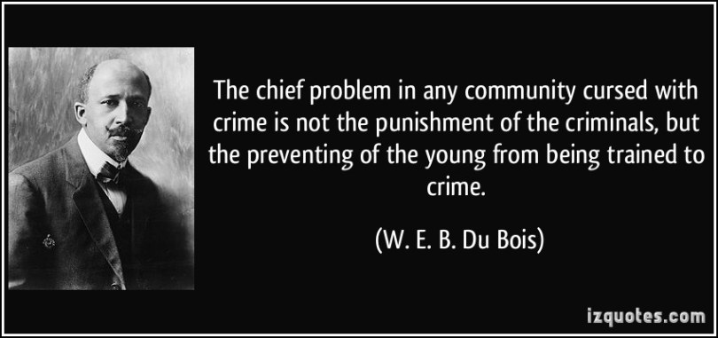 Criminal Quotes The chief problem in any community cursed with crime