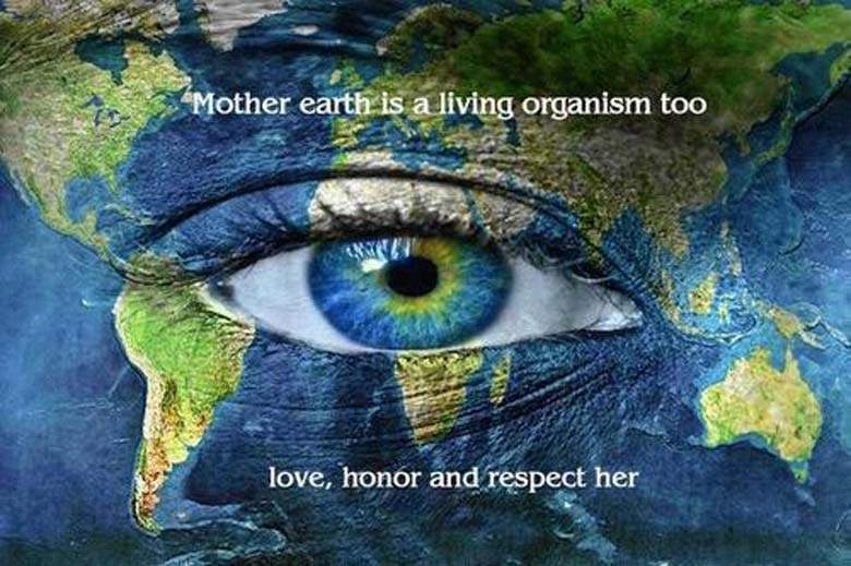 Earth Day Quotes mother earth is a living organism too