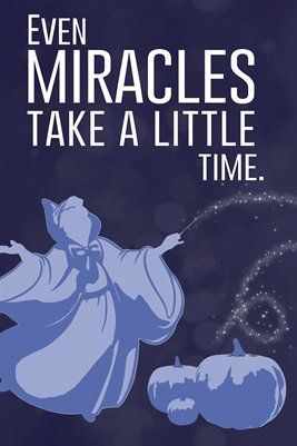 Godmother Quotes even miracles take a little time (2)