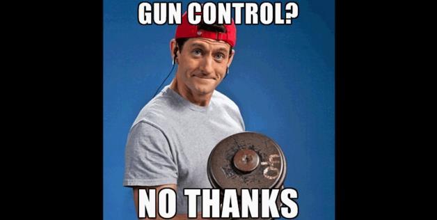 Gun control no thanks Weightlifting Meme