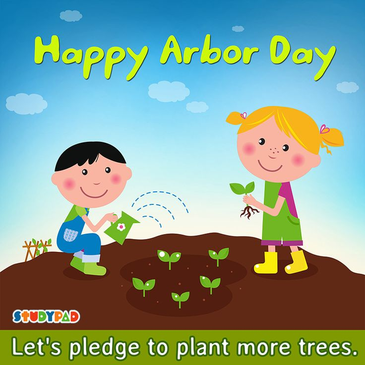Happy Arbor Day Kids Let Celebrate