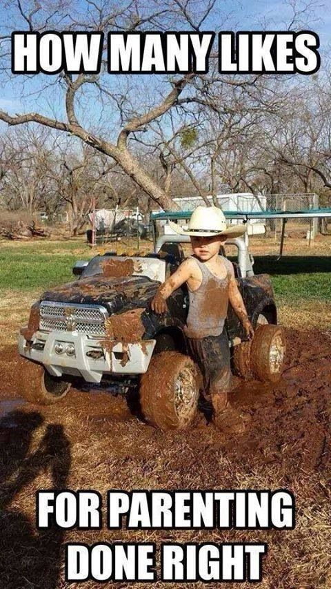 How many likes for parenting done right Truck Memes