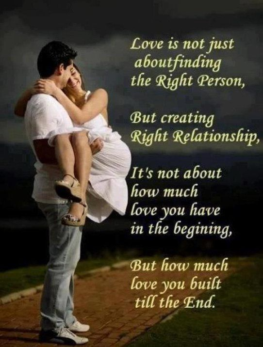 Inspirational Love Quotes Fascinating Inspirational Love Quotes Love Is Not Just About Finding The Right