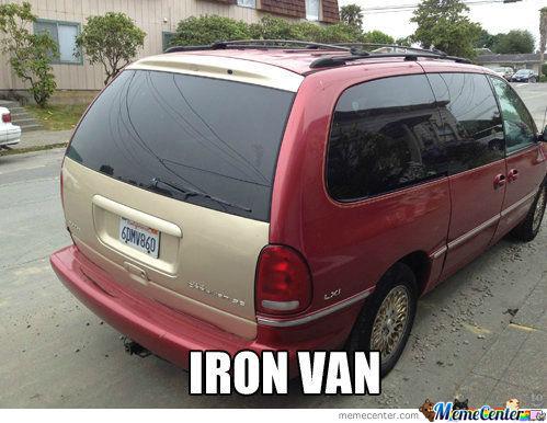 Iron van Memes